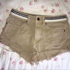 P.S Erin Wasson x PacSun Shorts